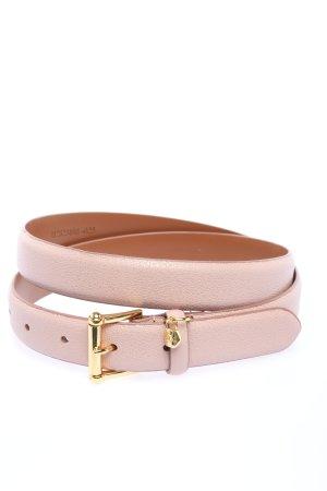 Ralph Lauren Cinturón de cuero de imitación gris claro look casual