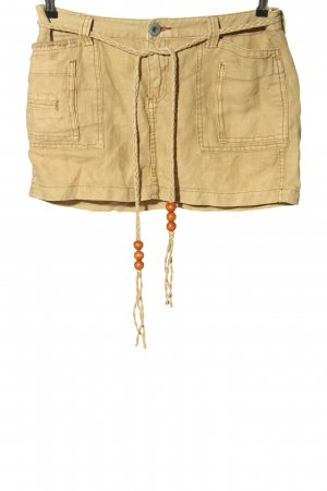 Ralph Lauren Linnen rok sleutelbloem casual uitstraling