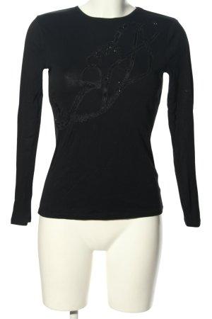 Ralph Lauren Manica lunga nero stile casual