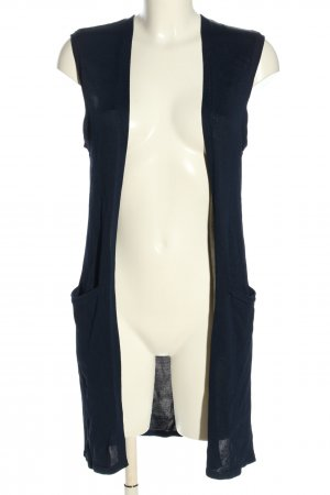 Ralph Lauren Long Knitted Vest blue casual look