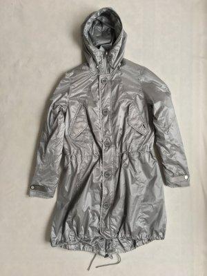 Polo Sport Manteau de pluie argenté tissu mixte