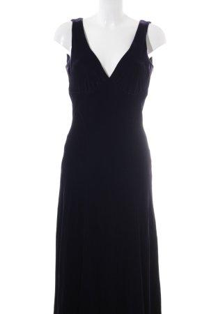 Ralph Lauren Maxikleid dunkelviolett Elegant