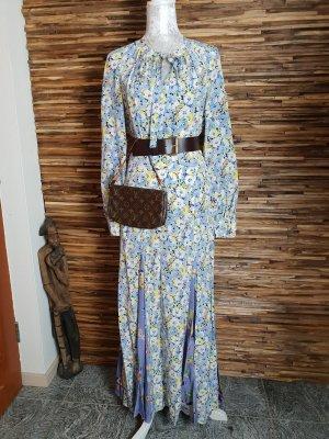 Ralph Lauren Maxikleid Langarm Kleid