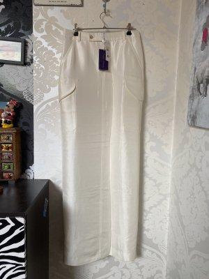 Ralph Lauren Jupe longue multicolore soie