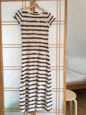 Ralph Lauren Midi- Kleid gestreift Gr. XS