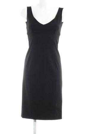Ralph Lauren Midikleid schwarz Elegant
