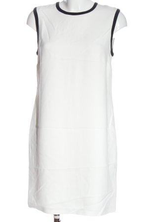 Ralph Lauren Minikleid weiß-schwarz Business-Look
