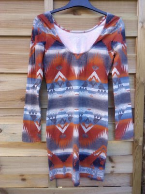 Denim & Supply Ralph Lauren Mini Dress grey-russet