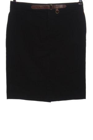 Ralph Lauren Minifalda negro look casual