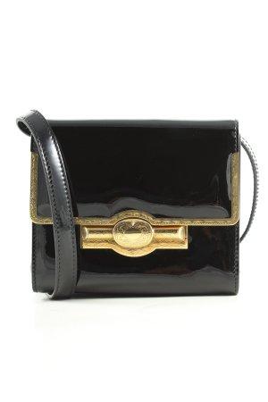 Ralph Lauren Minitasche schwarz-goldfarben Casual-Look