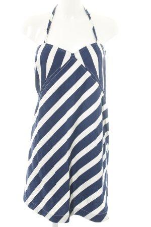 Ralph Lauren Sukienka z dekoltem typu halter niebieski-biały W stylu casual