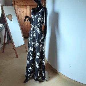 Ralph Lauren,  neues Maxikleid schwarz/weiß Gr.6