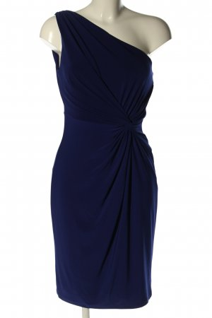Ralph Lauren One-Shoulder-Kleid blau Casual-Look