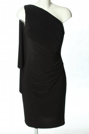 Ralph Lauren One Shoulder Dress black casual look