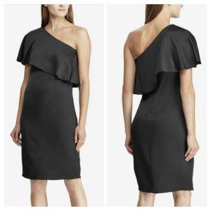 Lauren by Ralph Lauren Vestido de un hombro negro