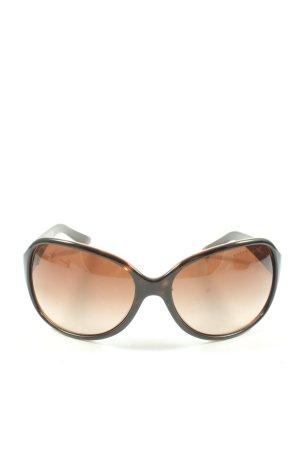 Ralph Lauren ovale Sonnenbrille schwarz Casual-Look