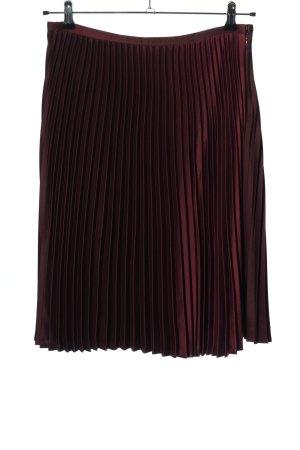 Ralph Lauren Plisowana spódnica czerwony Elegancki