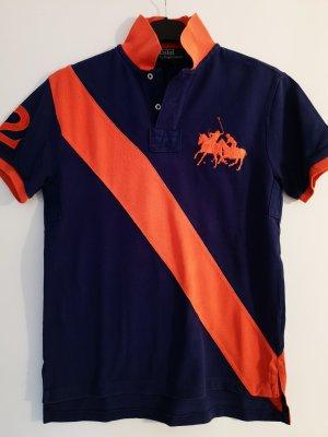 Lauren by Ralph Lauren Polo shirt oranje-blauw
