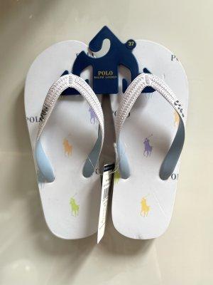 Ralph Lauren Polo Flip Flops Schuhe Gr. 37