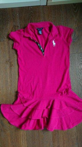 Polo Ralph Lauren Vestido tipo polo rosa