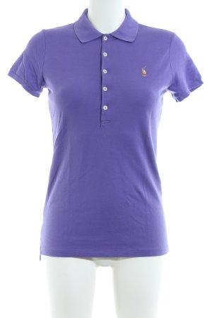 Ralph Lauren Polo-Shirt lila Casual-Look