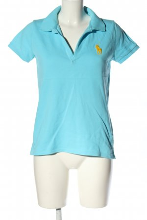 Ralph Lauren Polo-Shirt blau Casual-Look