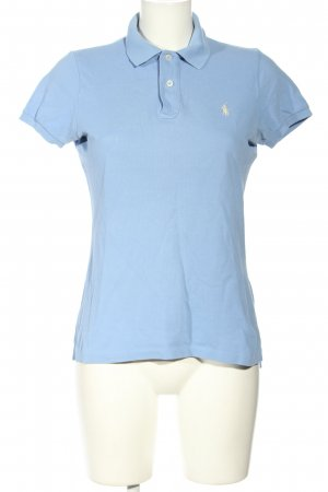 Ralph Lauren Polo-Shirt blau-weiß Casual-Look
