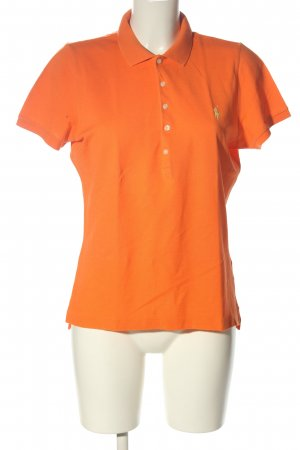 Ralph Lauren Polo-Shirt hellorange Casual-Look