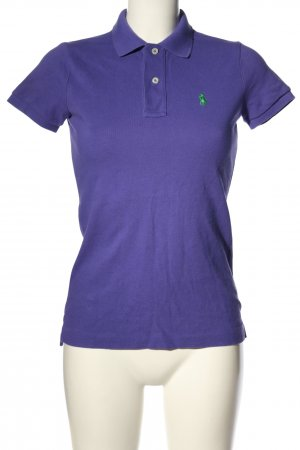 Ralph Lauren Polo-Shirt lila Casual-Look