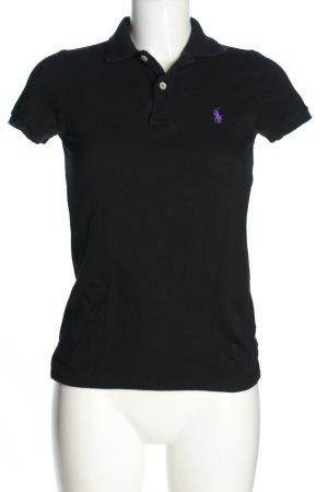 Ralph Lauren Polo shirt zwart casual uitstraling