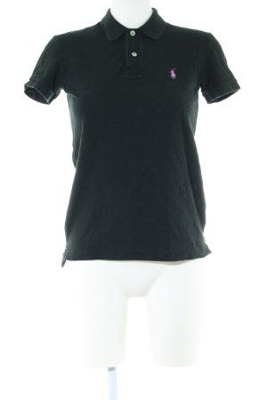Ralph Lauren Polo-Shirt schwarz Casual-Look