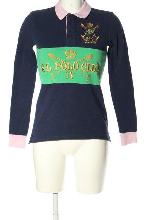 Ralph Lauren Polo-Shirt Schriftzug gestickt Casual-Look