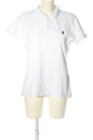 Ralph Lauren Polo-Shirt weiß Casual-Look