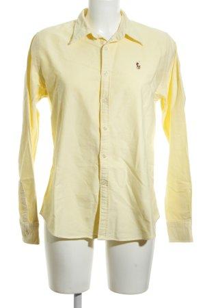 Ralph Lauren Polo-Shirt blassgelb Business-Look