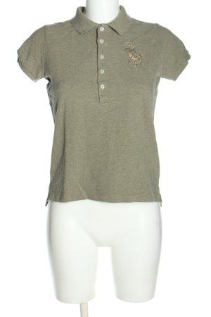 Ralph Lauren Koszulka polo khaki-złoto Melanżowy W stylu casual