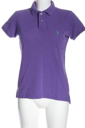 Ralph Lauren Polo-Shirt lila sportlicher Stil