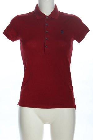Ralph Lauren Polo rouge style décontracté