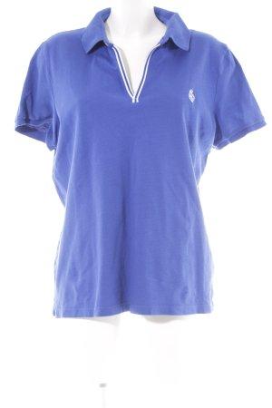 Ralph Lauren Polo bleu coton