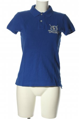 Ralph Lauren Polo-Shirt blau Casual-Look