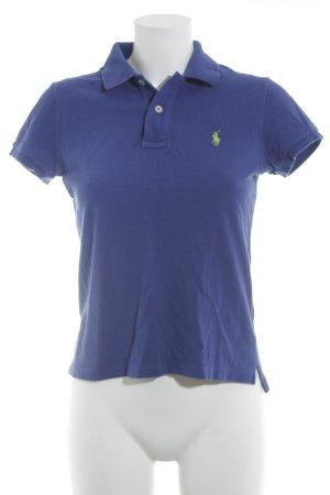 Ralph Lauren Polo-Shirt blau schlichter Stil