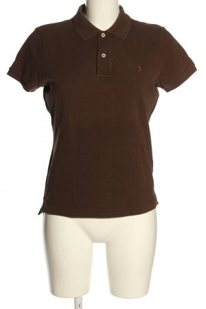Ralph Lauren Polo-Shirt braun Casual-Look