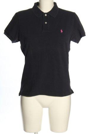 Ralph Lauren Polo-Shirt dunkelblau Casual-Look