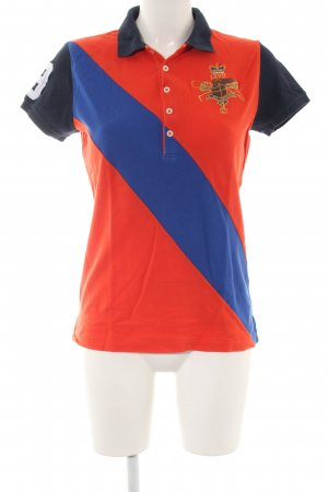 Ralph Lauren Camiseta tipo polo estampado temático look casual