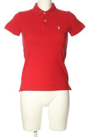 Ralph Lauren Polo-Shirt rot Casual-Look