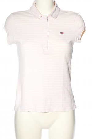 Ralph Lauren Koszulka polo różowy-biały Wyhaftowany logo W stylu casual