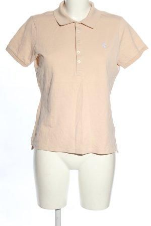Ralph Lauren Camiseta tipo polo crema look casual