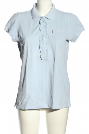 Ralph Lauren Camiseta tipo polo azul look casual