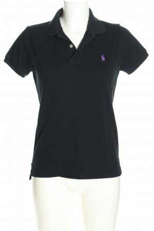 Ralph Lauren Polo-Shirt schwarz-blau Casual-Look