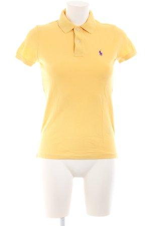 Ralph Lauren Polo-Shirt gelb Business-Look