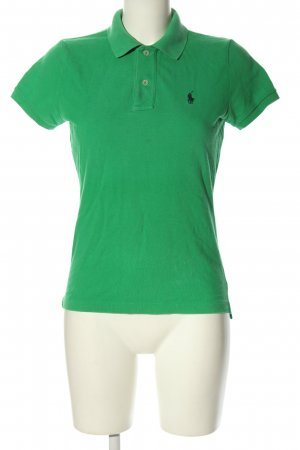 Ralph Lauren Polo-Shirt grün schlichter Stil